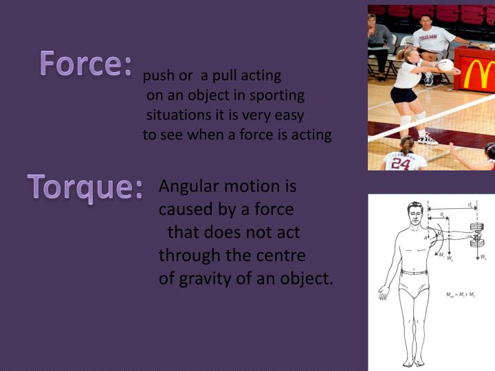 Force: