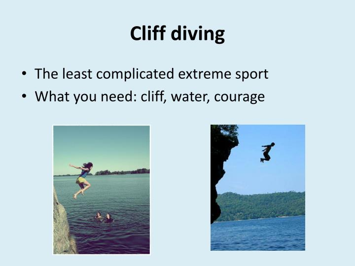 Cliff diving1
