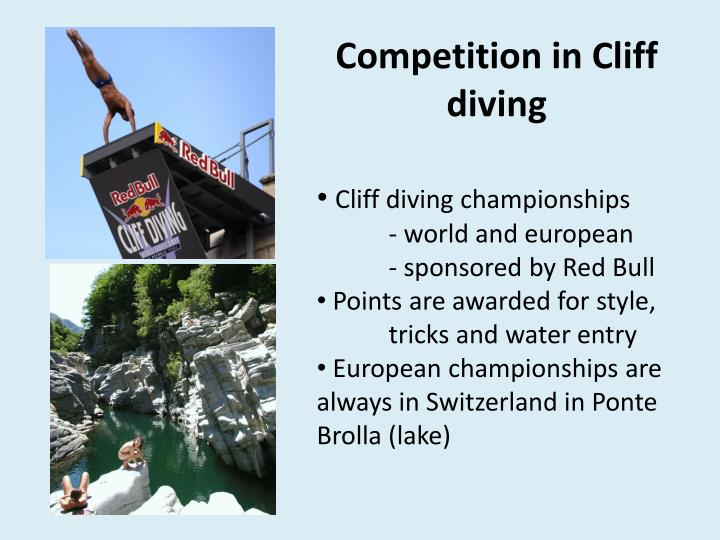 Competition in Cliff diving
