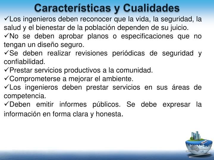 Características y Cualidades