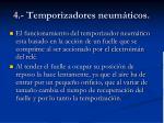 4 temporizadores neum ticos