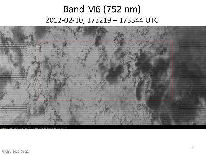 Band M6 (752 nm)