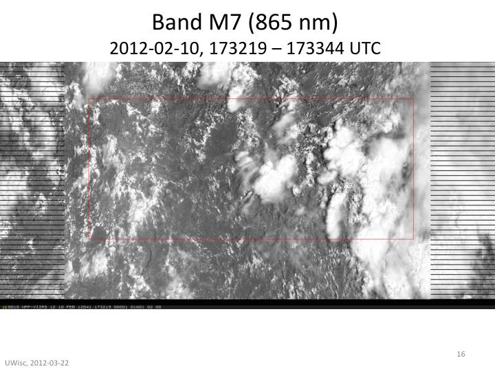 Band M7 (865 nm)