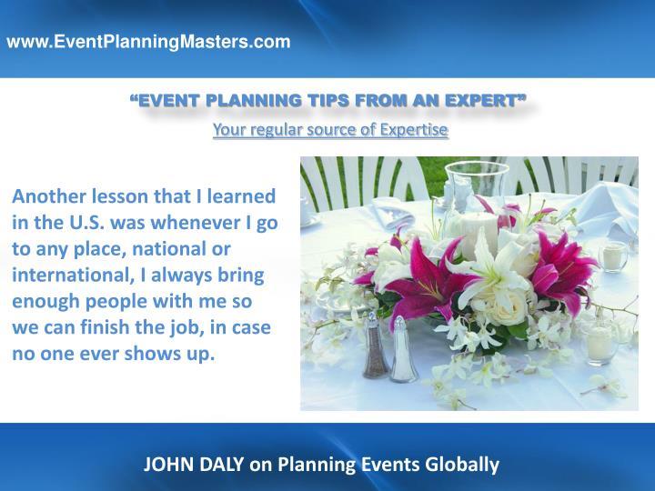 www.EventPlanningMasters.com