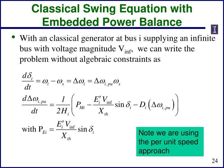 Classical Swing
