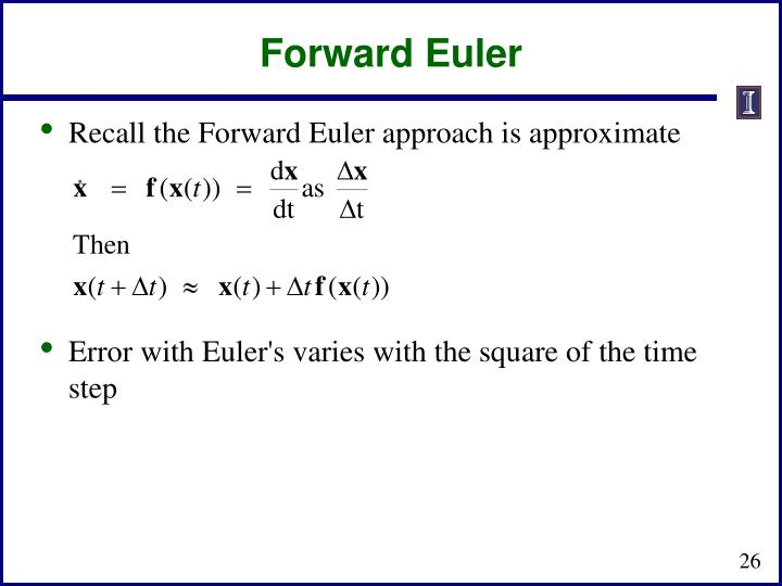 Forward Euler