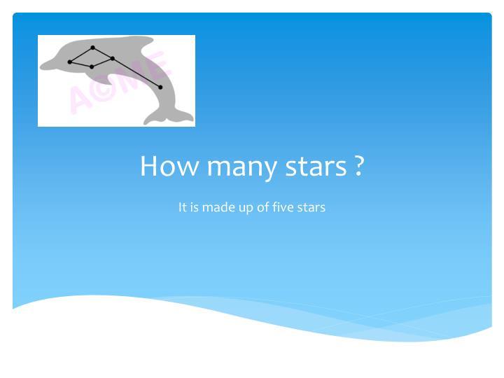 How many stars ?