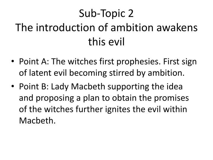 Sub-Topic 2