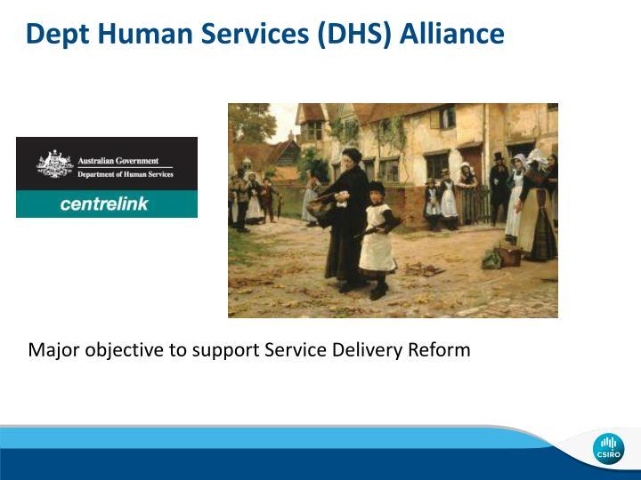 Dept Human Services (DHS)