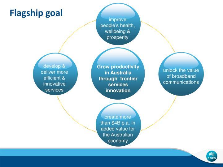 Flagship goal