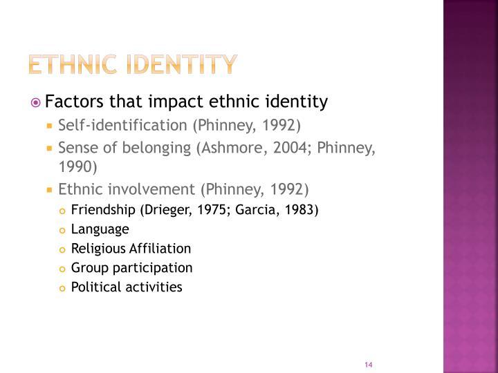 Ethnic Identity