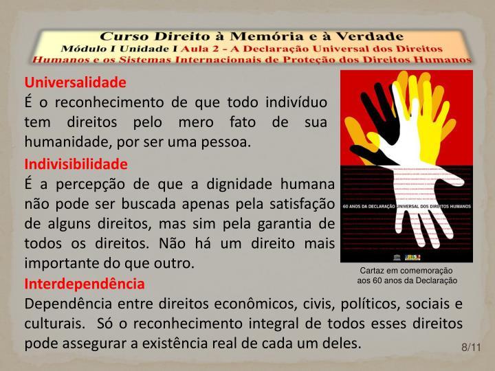 Curso Direito à Memória e à Verdade