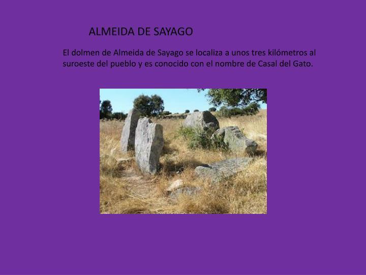 ALMEIDA DE SAYAGO