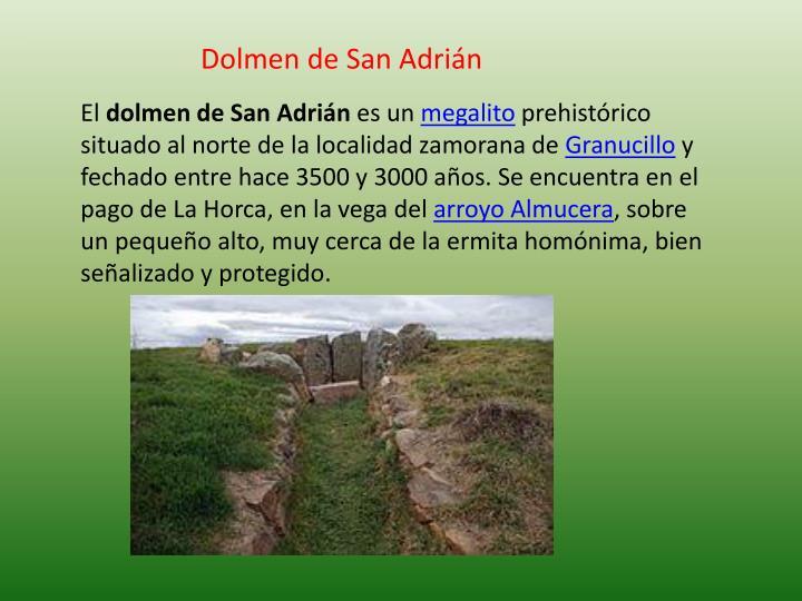 Dolmen de San Adrián