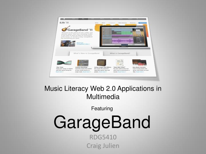 Music literacy web 2 0 applications in multimedia