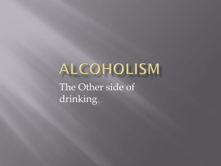 a discussion on the dangers of alcohol consumption