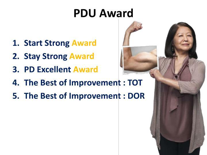 PDU Award