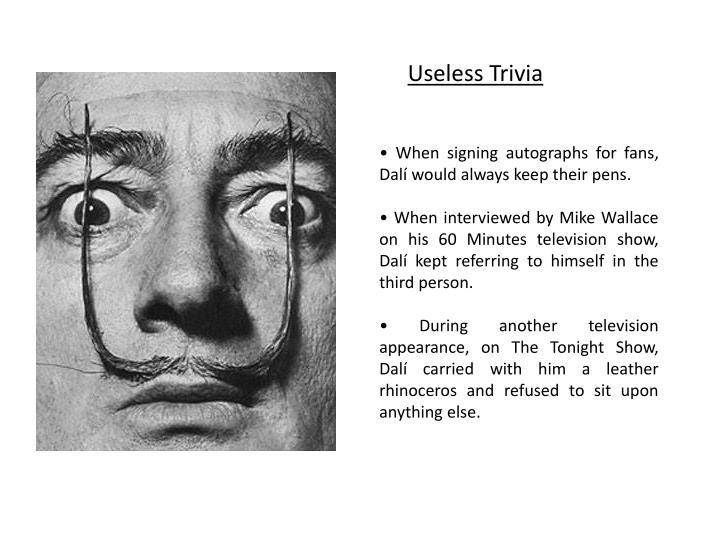Useless Trivia