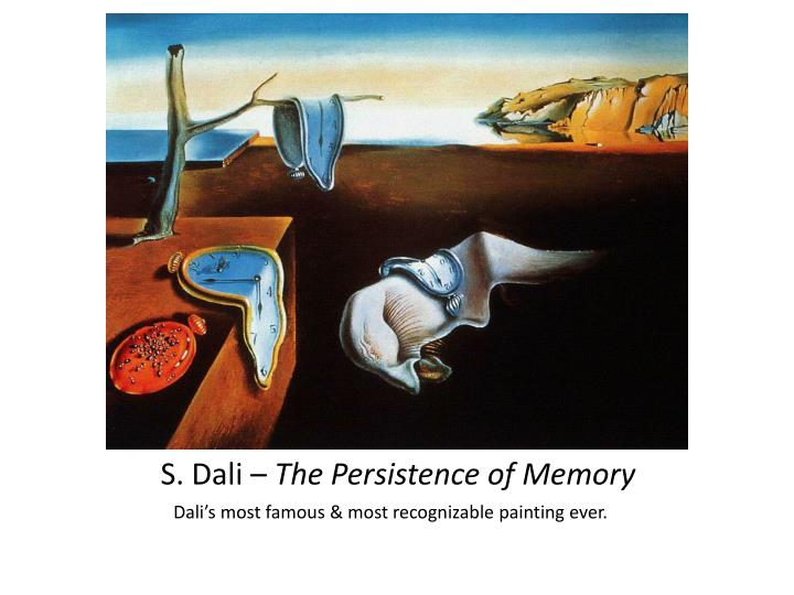 S. Dali –