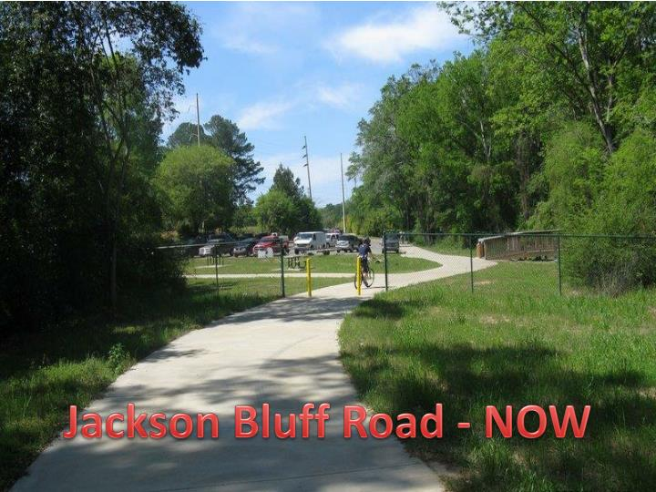 Jackson Bluff Road - NOW