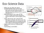 eco science data1