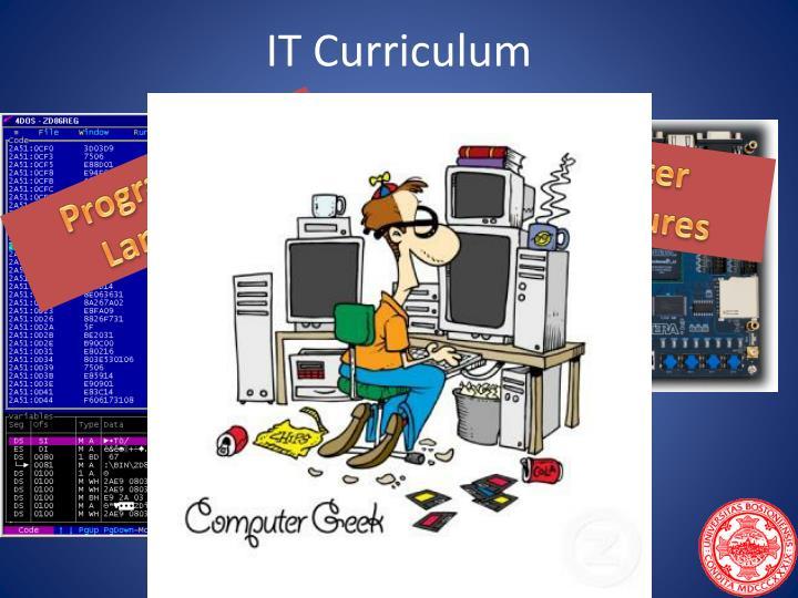 IT Curriculum