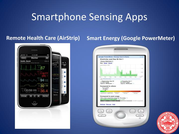 Smartphone Sensing Apps
