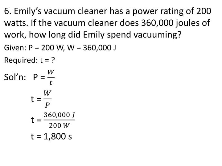 6. Emily's