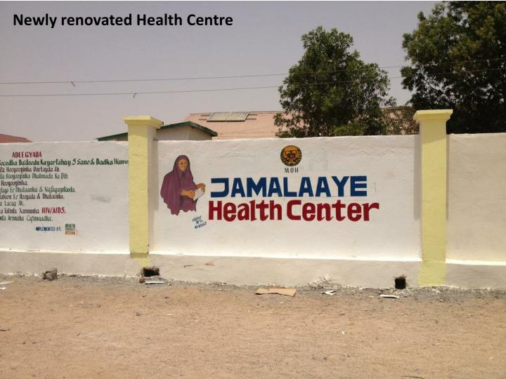 Newly renovated Health Centre