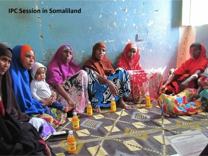 IPC Session in Somaliland