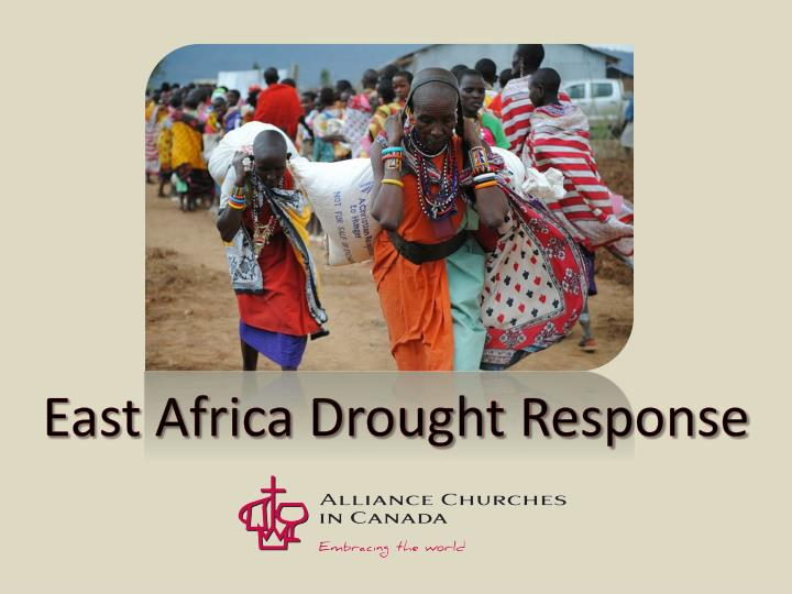 East africa drought response