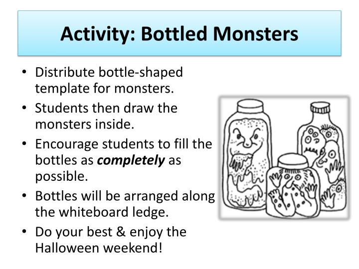 Activity: Bottled Monsters