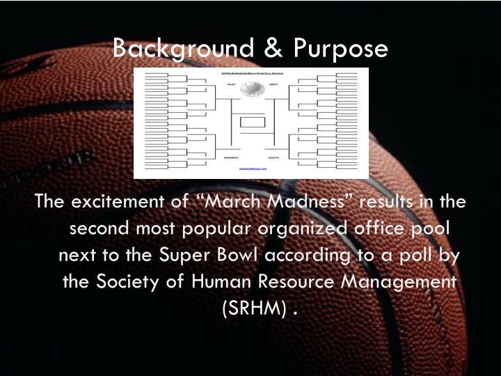 Background & Purpose