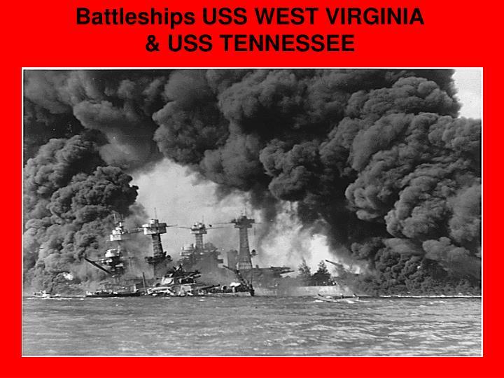 Battleships USS WEST VIRGINIA