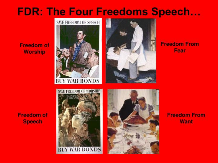 FDR: The Four Freedoms Speech…