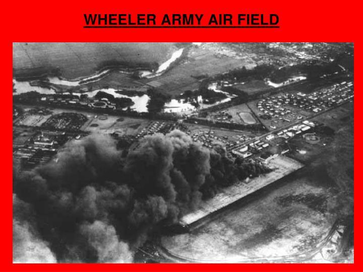 WHEELER ARMY AIR FIELD