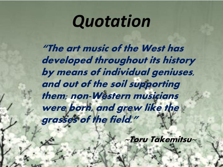 Quotation