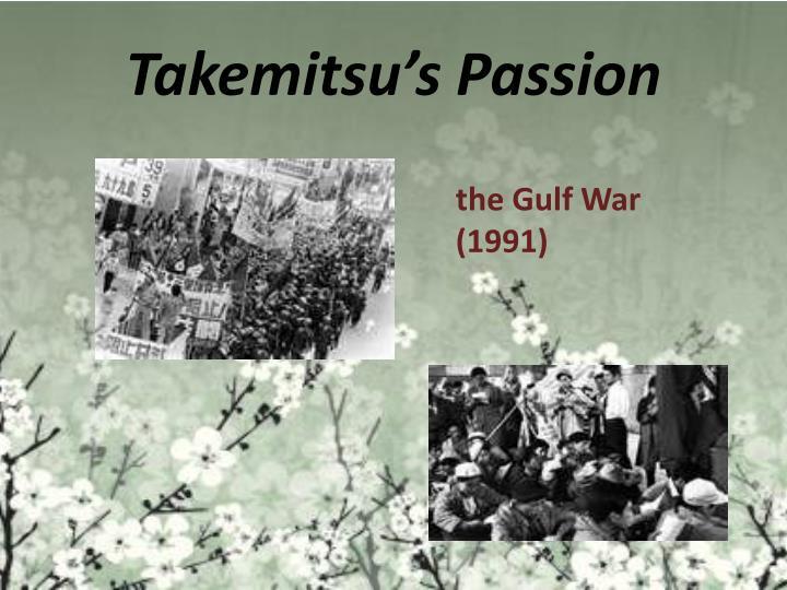 Takemitsu's Passion