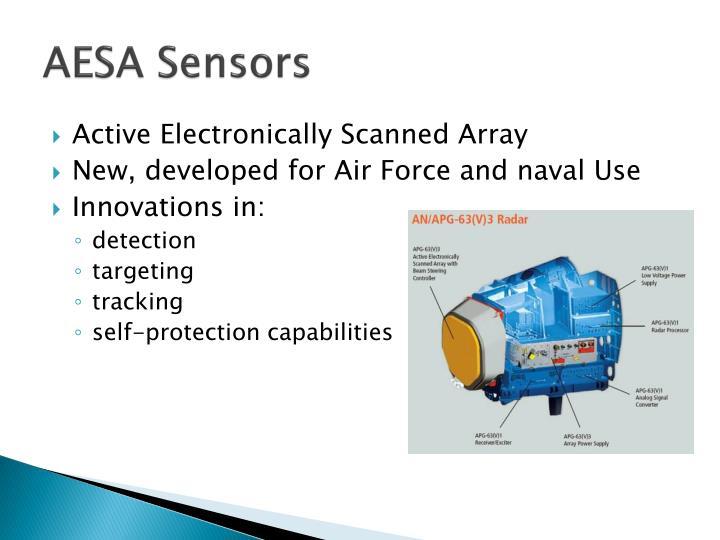 AESA Sensors