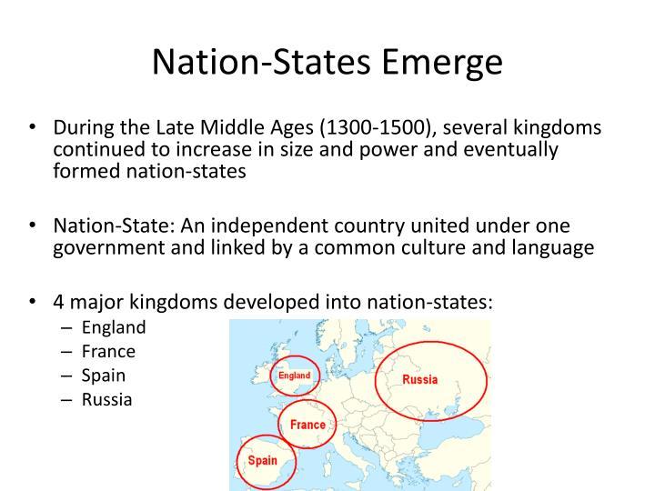 Nation-States Emerge