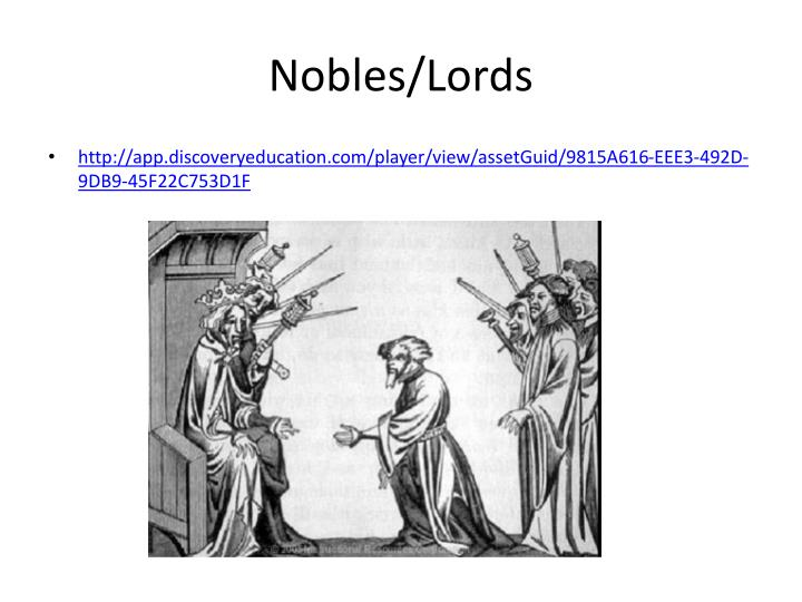 Nobles/Lords