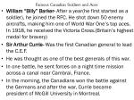 famous canadian soldiers and aces