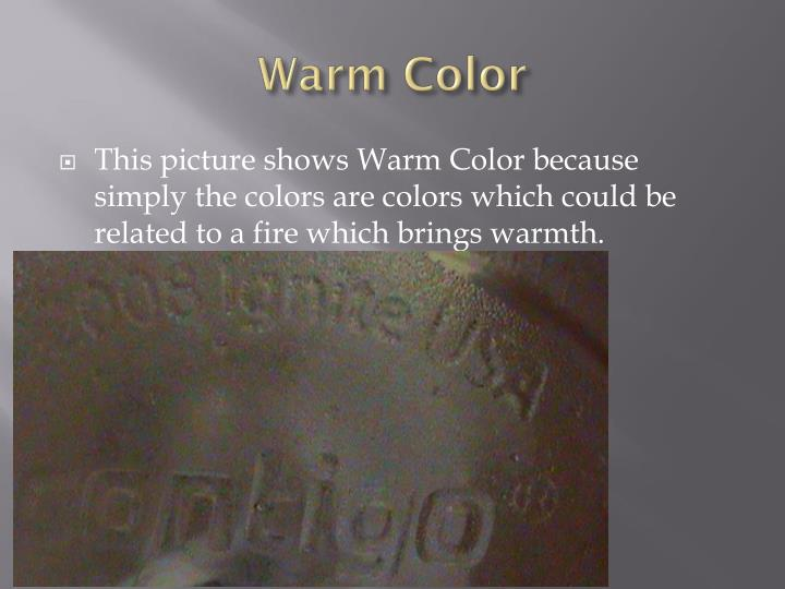 Warm Color