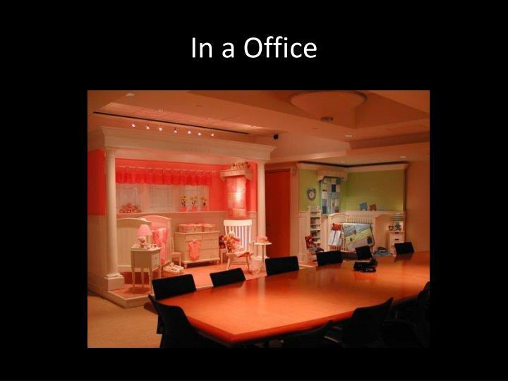 In a Office