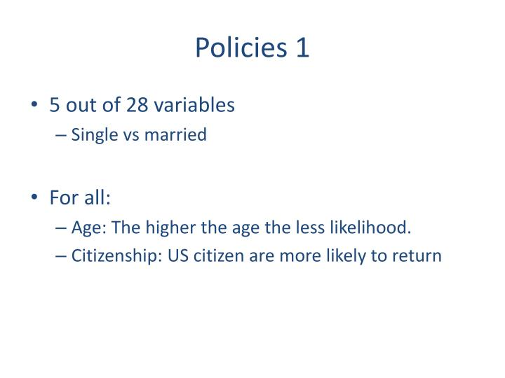 Policies 1
