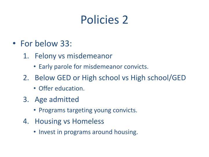Policies 2