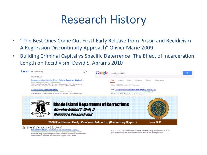 Research History