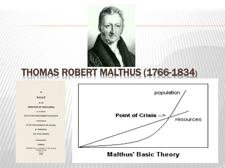 Thomas Robert Malthus (1766-1834