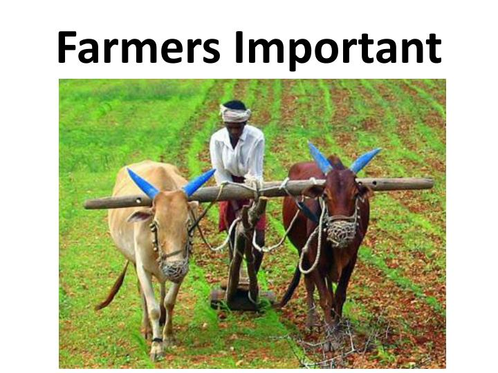 Farmers Important
