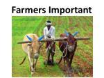 farmers important